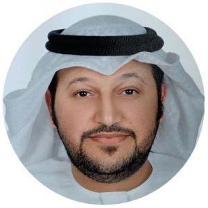 a speaker Ahmed Al Nuaimi