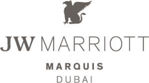 logo of jw Marriott marquis Dubai