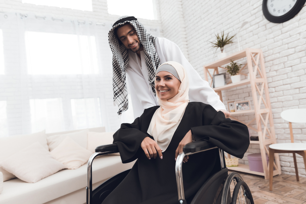 photo of a disabled person smiling
