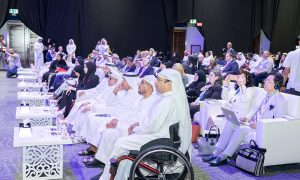 a photo of the attendees during the 2019 summit